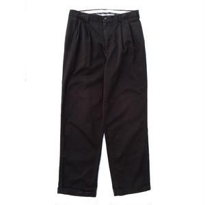 Arrow / Cotton 2Tuck Slacks  / Black / Used