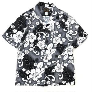Made in Hawaii / Used Hawaiian Shirt / Black