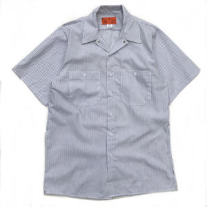 Made in Jamaica / Dead Stock / S/S StripeShirt / white × black