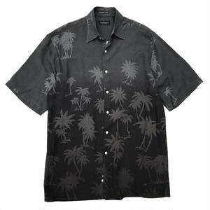 Used Hawaiian Rayon Shirt / Black