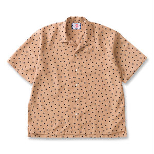 SON OF THE CHEESE / rain dot shirts / BEIGE