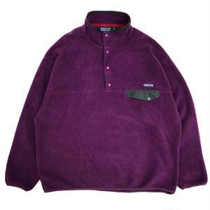 98s Patagonia / SYNCHILLA SnapT Fleece Jacket  / Purple / Used