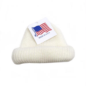 Made in USA / Knit Cap / White