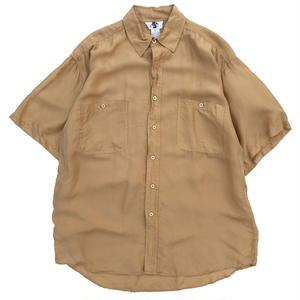 Used Silk S/S  Shirt / Mustard