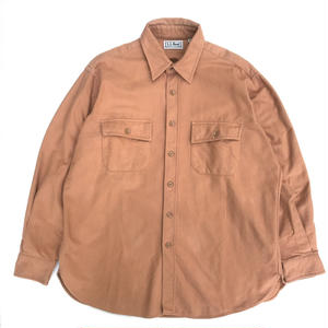 Made in USA / L.L.Bean / L/S Shirt / Camel / Used