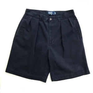Polo Ralph Lauren / 2Tuck Shorts  / Navy D / Used