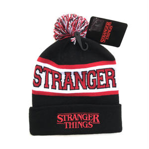 STRANGER THINGS / Knit Cap / Black