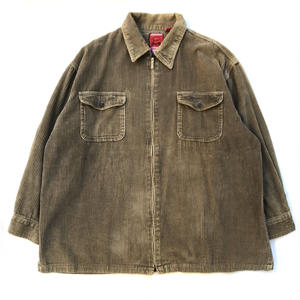 Corduroy Shirt Jacket / Beige / Used