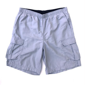 L.L.Bean / Nylon Cargo Shorts / Grey / USED