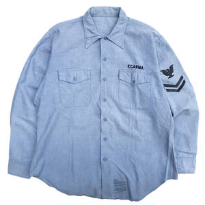 OLD US NAVY / L/S COTTON CHAMBRAY SHIRTS  C