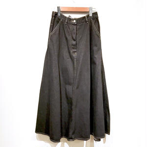 OLD Denim Skirt / Black
