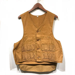 OLD Duck Hunting Vest / Brown