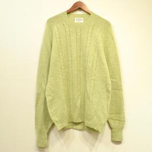 Made in USA / OLD PURITAN SHETLAND WOOL Sweater