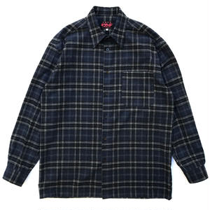 TACORIDE / FRANTIC FLANNEL SHIRTS / NAVY