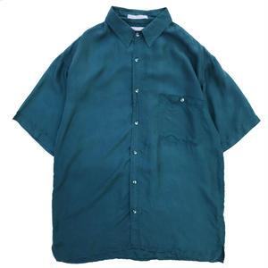 Used Silk S/S  Shirt / Green