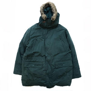 90s L.L.Bean / Goose Down Jacket / Forest / Used