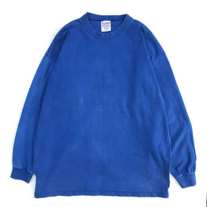 Made in USA / Used L/S Poket Tee / Blue