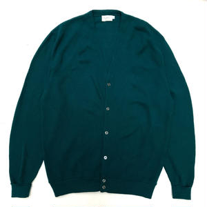 Made in USA / Cardigan / Green / Used