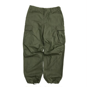 60's US ARMY / Rip-Stop Jungle Fatigue Pants / OLIVE