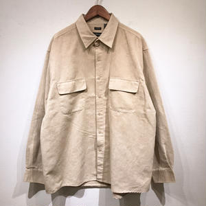 Used / Suede Shirts / Beige