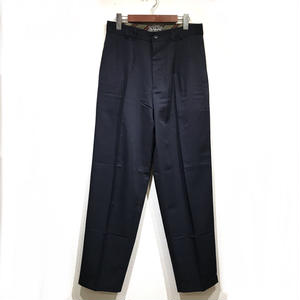 OLD SLACKS 2 TUCK SLACKS / Navy