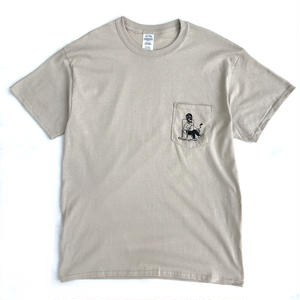 Color at Against ORIGINALS /  T-SHIRTS A / SAND