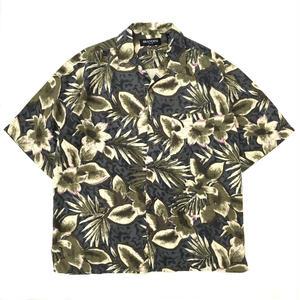 Used Hawaiian Silk Shirt / Gray