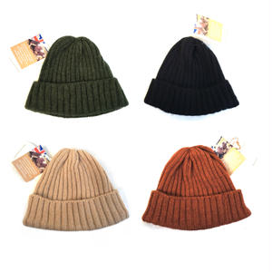 Made in England / High Land Knit / Wool Knit Cap