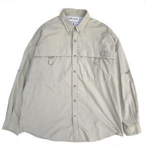 Old Columbia / PFG Fishing Shirts / Beige L