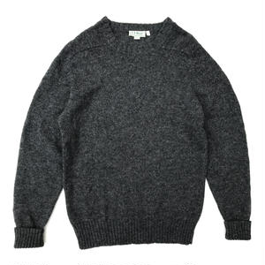 Made in Ireland / L.L.Bean / Crew-Neck  Knit / Grey / Used
