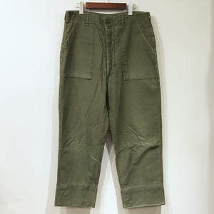 Old US ARMY / Cotton Utility Pants / Olive A