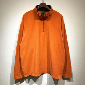 Used Polo Ralph Lauren / Half Zip Fleece / Orange