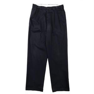Brooks Brothers / Cotton 2Tuck Slacks  / Navy / Used