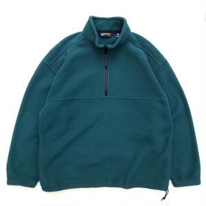 EBTEK by Eddie Bauer / Half Zip Fleece Jacket / Green / Used