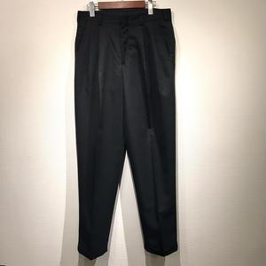 OLD 2TUCK SLACKS / BLACK D
