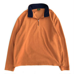 Used  Half Zip Fleece / Orange