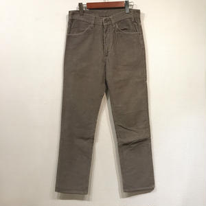 Made in USA / 90s Levi's 519 Used Corduroy Pants / Gray