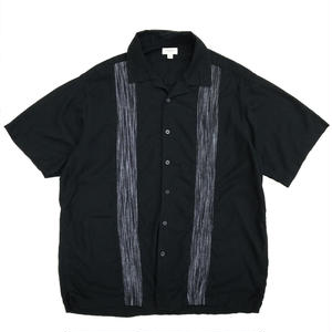 S/S Linen Shirt / Black / Used