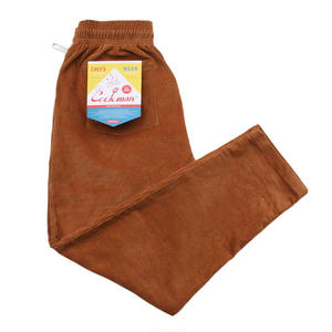 COOK MAN /  Corduroy Chef Pants  / Brown