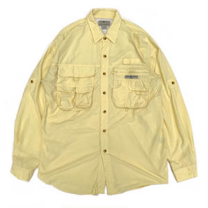Hook & Tackle / Fishing Shirt / Yellow / Used