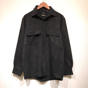 Used / Suede Shirts / Black S