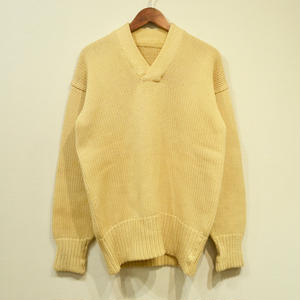 Made in USA / 40s Wool Sweater