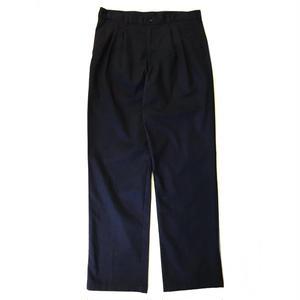 Cotton 2Tuck Slacks  / Navy / Used