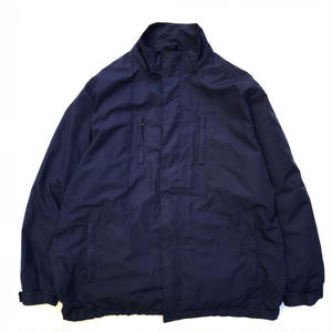 Eddie Bauer / Rip-stop Windbreaker /  Navy / Used