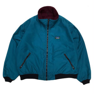 Made in USA / 90s L.L.Bean / Warm-Up Jacket / Green / Used