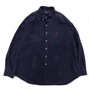 Polo Ralph Lauren / L/S B.D. Shirt / Navy / Used
