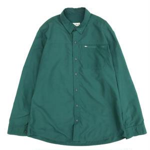 Old L.L.BEAN / Rip Stop FIshing Shirt / Green