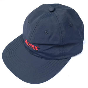 "Color at Against / ""NETHOLIC"" 6 PANEL CAP / NAVY"
