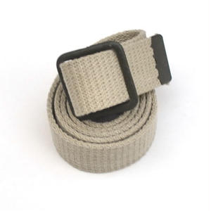 50s French Military/Cotton Canvas Belt/Dead Stock