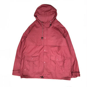 90s L.L.Bean / PVC Rain Coat / Cherry / Used